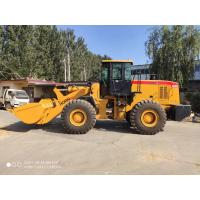 China Front End Compact Wheel Loader Model 656G 5T With Full Hydraulic Steering for sale