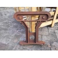 Plywood Cast Iron Bench Ends Used For Waiting Room Bench Seating for sale