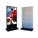 112x84 Resolution Floor Standing Led Digital Signage Displays CE / ROHS for sale