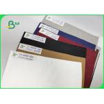 China 0.55mm Kraft Paper Red Color Washable Smooth Surface Width 150cm For Bags for sale
