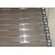 Precise Plate Chain Conveyor Belt Durable Knuckled Selvedge 10.0mm Thick for sale