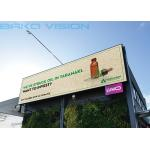 Waterproof High Refresh Outdoor Advertising LED Display Full Color Fixed Installation for sale
