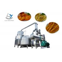 China Commercial Automatic Bathch Vacuum Fryer Machine , Automatic Snacks Frying Machine Adjustable Steam Pressure for sale