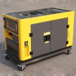 230V/400V 50Hz Small Portable Diesel Generator , AC 3 Phase mobile diesel generator for sale