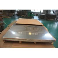China 316L , 304 ,304L  321 ,310S Stainless Steel Sheet With PE Film / ASTM AISI JIS Standard supplier