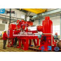 China Foam Concentrate Used Multistage Vertical Turbine Fire Pump Sets With Firefighting Diesel Engine Driven With 750 Usgpm for sale