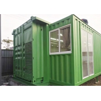 China 40ft Prefab Double Expansion Container House Thermal Insulation supplier