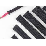 China Custom Size Expandable Braided Cable Sleeving Excellent Flexibility Wear Resistant for sale