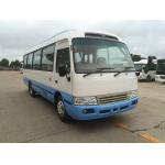 China Streamline Design Classic Coaster Minibus Peru Style LHD Mini 30 Seater Bus Mitsubishi for sale