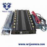 China UMTS 3G/GSM800/900MHz  Mobile phone signal Jammer Jamming range up to 20m for sale