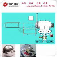 Stainless Steel Pvd Chrome Vacuum Metallizer Machine Thermoforming For Helmet for sale