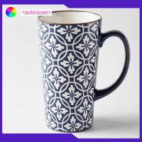 China 440ml Stoneware Coffee Mugs Large Capacity Tall With Personalised Logo supplier