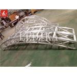 Rotating Round Truss 11.5M Aluminum Square Truss For Circus Adjustable Speed for sale