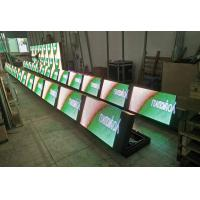 China P10 Front Opening Full Color LED Signs IP 65  ISO 9001 Approved For Advertising for sale