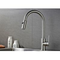 ROVATE 2 Way Pull Down Kitchen Basin Faucet 360 Degree Rotation CE Approved for sale