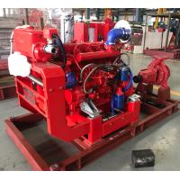 China UL / FM non-listed Split Case Pump Capacity 750 m3/h @ 105m Diesel Engine for sale