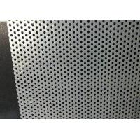 China 0.1mm Perforated Stainless Steel Sheet for sale