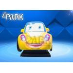 China Cartoon Design Fun Rides Swing Car Game Machine / Kids Amusement Parks for sale