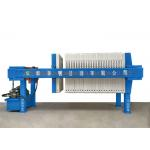 Hydraulic Pressure Industrial Filter Press Semi - Automatic For Chemical Industry for sale