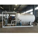 LPG Propane Butane Gas Tank , Q345R Carbon Steel Gas Filling Plant With Dispenser for sale