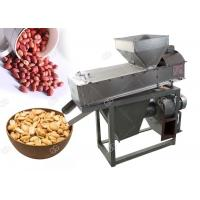 China Dry Nuts Roasting Machine Peanut Skin Peeling Groundnut Peeler Small 200 Kg / H for sale