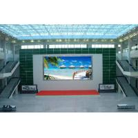 P10 LED Display Board Indoor Full Color Led Display High Resolution 320mm x 160mm for sale