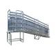 High Tensile Pressed Animal Loading Ramps , Metal Adjustable Loading Ramp for sale