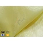 Industrial Workwear Metal Kevlar Woven Fabric 250GSM Flame Retardant for sale