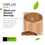 Metal and Bimetal Bearings | Self-lubricating Bearing Technology & Gear Pump Bushings for sale