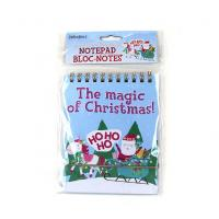 Cute Christmas Notepad Personalised Notebooks For Kids for sale