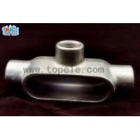 China Type LL / LR / LB / C / T Rigid Conduit Body , Electrical Conduit Body for sale