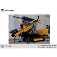 TD-300RC Crawler Drill Rig Machine With Drill Diameter 150 - 250mm 150KN Lifting Capacity for sale