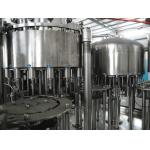 China 4 In 1 Non Carbonated Juice Pulp Piston Filling  Machine for sale