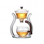 Factory direct wholesale creative high borosilicate glass tea sets