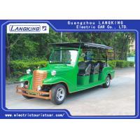 China 8 Seater 5KW Electric Vintage Cars Classic Retro Golf Cart Max. Speed 28km/h for sale