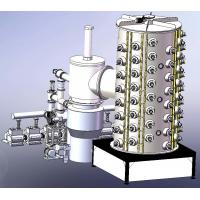 Stainless Steel Titanium Coating Machine , Large furniture PVD gold plating equipment for sale