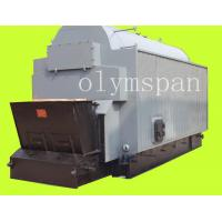 China Electric High Pressure Coal Fired Steam Boiler Efficiency / Steam Heating Boiler for sale