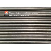 China Nickel Alloy Pipe Exchanger Tubes ASME SB163/ SB167 UNS NO6600 NO6601 for sale