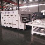 Semi - Automatic Carton Box Flexo Printing Machine / Flexo Printer Slotter Machine for sale