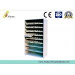 Powder Coated Steel Medical Cabinet Adjustable Component Medicine Shelf for sale