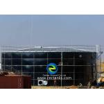 Elegant Appearance Waste Water Storage Tanks With Customized Tank Color