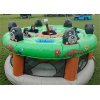 Giant Human Inflatable Sports Games / Whack A Mole Kids Game for sale