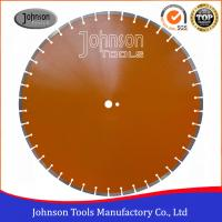 China 600mm Laser Welded Diamond Saw Blade Reinforced Concrete Cutting Disc for sale