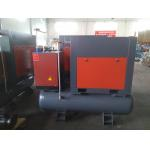 8KW Combined Set Screw Air Compressor With Air Tank , Air  Dryer , Filter for sale