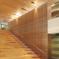 Customized 9 mm MDF Wooden Perforated Acoustic Absorption Panels Eco - Friendly for sale