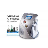 500w  Laser Tattoo Removal Equipment , Stationary Q Switched Nd Yag Laser Machine for sale