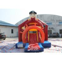 Outdoor Pirate Inflatable Bounce Slide Combo For Kids Outdoor Party Fun for sale