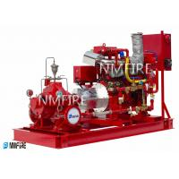 China 2500GPM@145PSI, Ul Listed ,Diesel Engine  DRIVER ,Split casing Pump set with Jockey pump for sale
