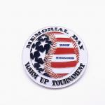 Custom Souvenir Pin Badges , Flag Style Iron Soft Enamel Pin Manufacturer for sale