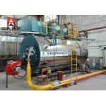 Factory Automatic WNS Diesel Oil Natural Gas Fired Fire Tube Steam Boiler Price